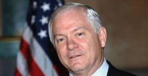 The US defence secretary, Robert Gates