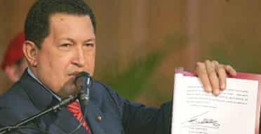 Hugo Chávez says Fidel Castro is getting better