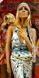 A mannequin in a shop window