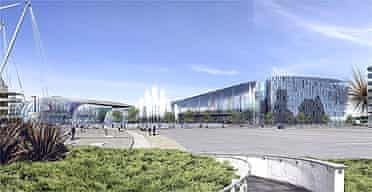 An artist's impression of the Manchester supercasino