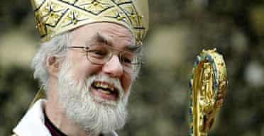 The Archbishop of Canterbury, Dr. Rowan Williams.