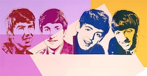 The Beatles by Andy Warhol