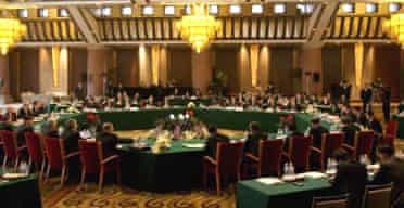 Envoys to the six-party talks on North Korea's nuclear programme