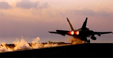 F18 Hornet jet
