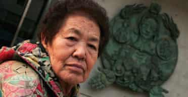 Kim Gun-Ja, 82, from South Korea travelled to the US to testify to Congress about her role as a 'comfort woman' for Japanese troops during the second world war