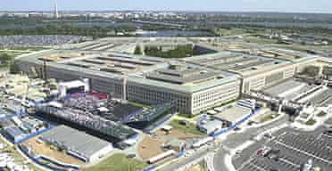 The Pentagon in Arlington, Virginia.
