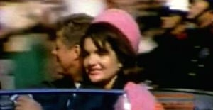 Home movie footage of President John F Kennedy and his wife, Jacqueline