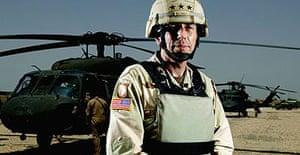 General David Petraeus, the top US commander in Iraq.