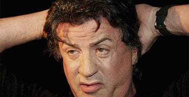 Sylvester Stallone attends the Australian premiere of Rocky Bilboa in Sydney