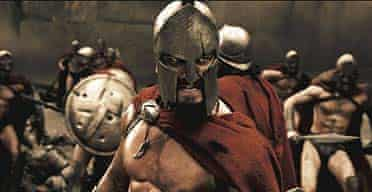A scene from the film 300