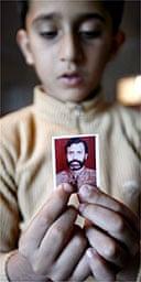 Saud Bugti, 7, son of Kasim Bugti