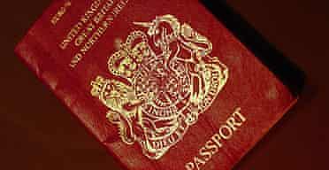 A British passport.