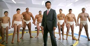 The Japanese foreign minister, Taro Aso