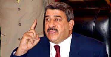 Iraq's deputy prime minister, Salam Zikam Ali al-Zubaie