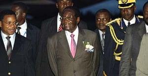 Robert Mugabe in Tanzania