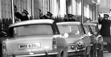 The Balcombe Street siege in London, December 12 1975