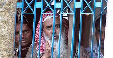 Shaikh Abdur Rahman, leader of the outlawed Jamayetul Mujahideen Bangladesh
