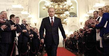 Vladimir Putin, the Russian president