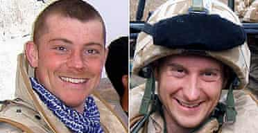 Corporal Ben Leaning, 24, and Trooper Kristen Turton, 28, of the Queen's Royal Lancers were killed when their armoured vehicle was hit by a bomb in Iraq.