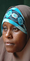 Fatma Ahmed Chande, 25, who spent three months in detention Kenya, Somalia and Ethiopia after being caught up in the war on terror