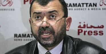 The Palestinian interior minister, Hani al-Qawasmi