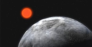 The Earth-like Gliese 581C circles a star in the constellation of Libra that is cooler than our sun