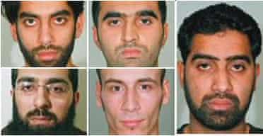 Five terrorists convicted