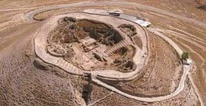 The Herodium fortress