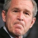 George Bush speaks about Iraq in Washington