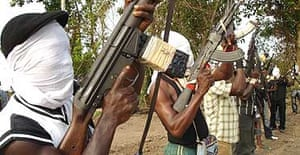Rebels from the Movement for Emancipation of the Niger Delta
