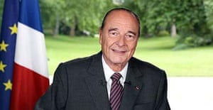 Jacques Chirac delivers his farewell address to a nation he has led for 12 years