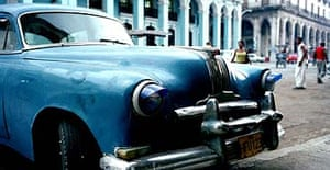 One of Cuba's ageing cars - imported before the US embargo
