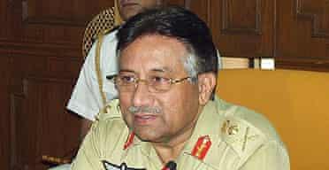 Pakistan's president, Pervez Musharraf