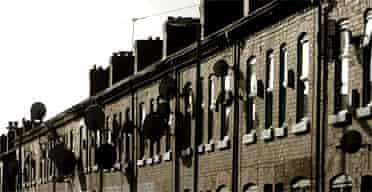 Council houses in Manchester