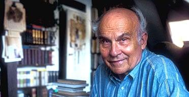 The Polish author and journalist Ryszard Kapuscinski