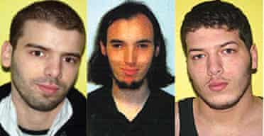 Lamine Adam, Cerie Bullivant and Ibrahim Adam, who have absconded from control orders imposed on them under terrorism laws