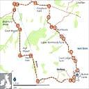 Bodiam Castle map