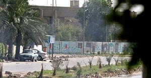 The Iraqi foreign ministry in Baghdad