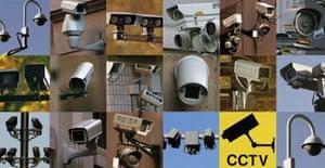 CCTV cameras around London