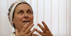 Israeli settler Daniela Weiss