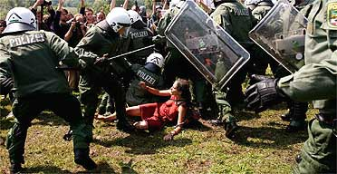 G8 clashes