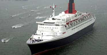 The QE2: heading to Dubai in a £50m deal