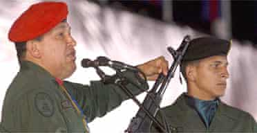 Hugo Chávez told Venezuelan forces to prepare for invasion
