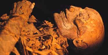 The female mummy of Hatshepsut, Egypt's greatest woman ruler