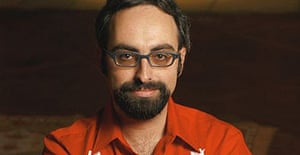 Gary Shteyngart, author of Absurdistan and one of the most exciting young US writers