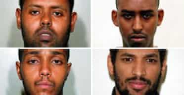 Muktar Said Ibrahim, Yassin Omar, Ramzi Mohammed and Hussain Osman
