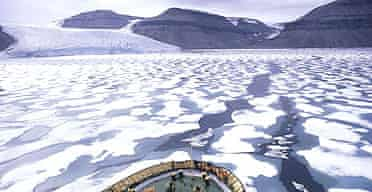 The Northwest Passage, in the Arctic Circle