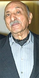 The former king of Afghanistan, Mohammad Zahir Shah