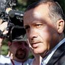 The Turkish prime minister, Recep Tayyip Erdogan