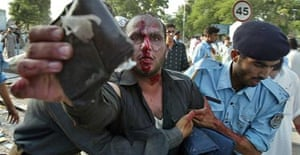 Red mosque suicide bomb victim